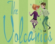 thevolcanicsstickergreen